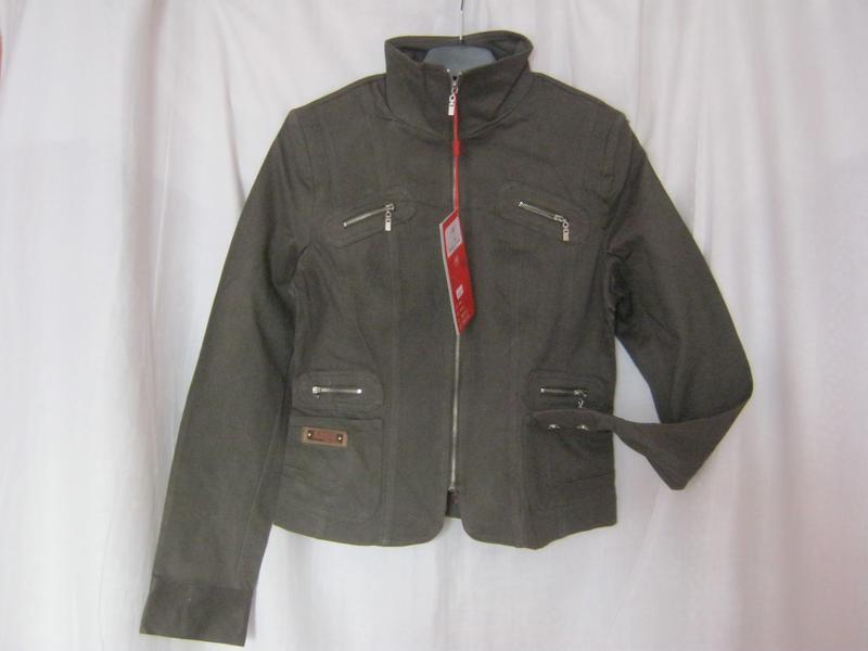 Куртка-пиджак котон, вышивка р.xl- наш 46, 4 цвета - Фото 4