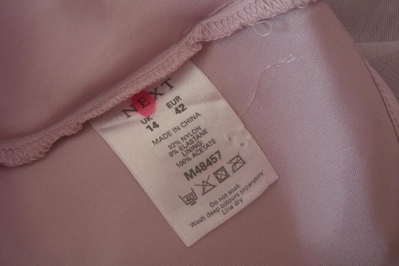 Шикарная двухслойная блуза next р.42 - наш 48 - Фото 2