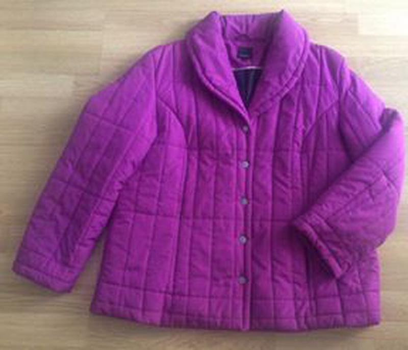 Стеганая куртка fabiani - Фото 2