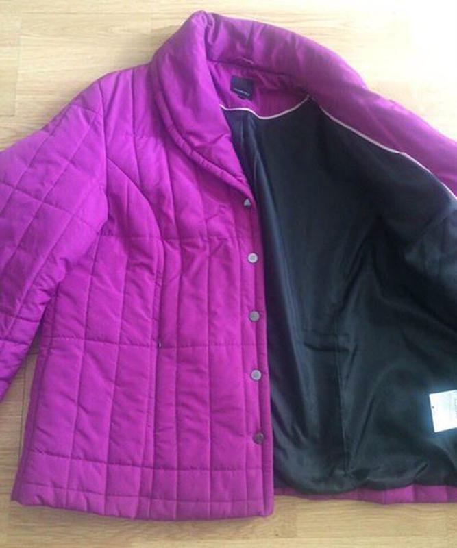 Стеганая куртка fabiani - Фото 4