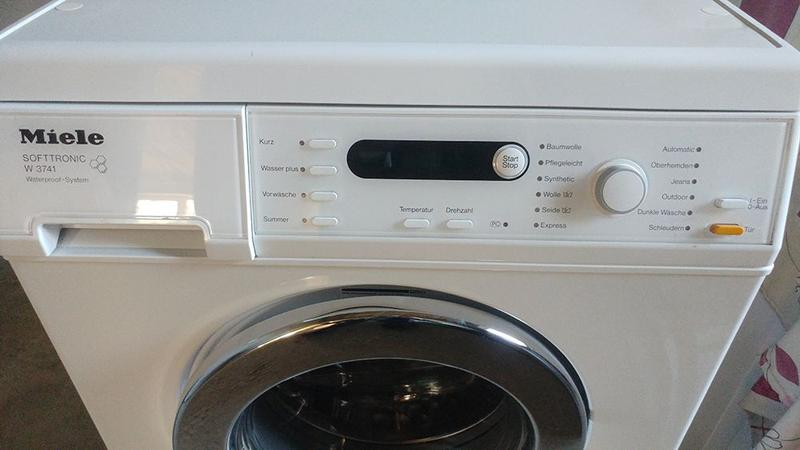 Стиральная машина Miele Softtronic W 3741 WPS - Фото 3