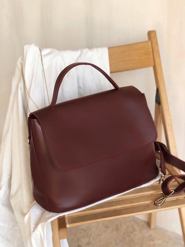 Практична сумка в еко шкірі