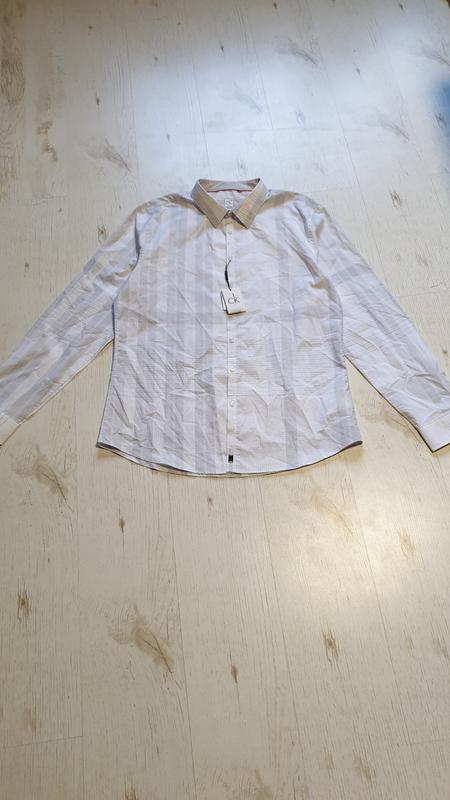 Легкая натуральная рубашка calvin klein