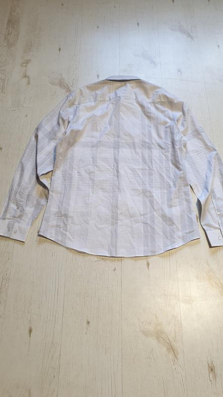 Легкая натуральная рубашка calvin klein - Фото 2