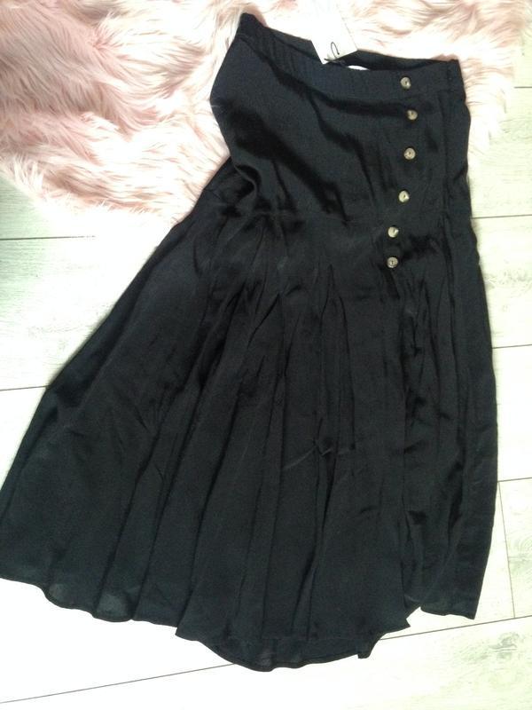 Стильная новая юбка zara . 100% вискоза - Фото 4