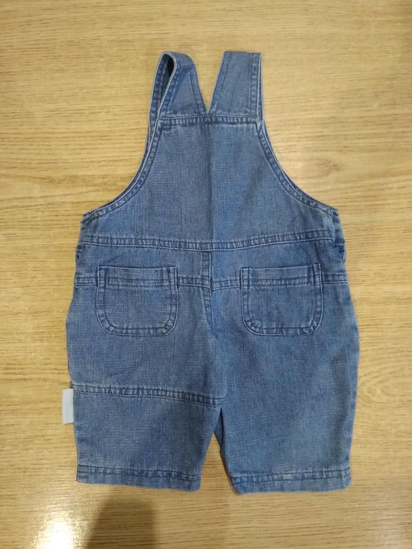 Джинсовые шортики jacky baby шорты комбез - Фото 3