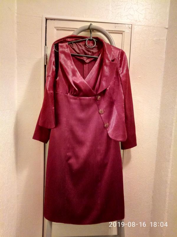 Набор: платье и пиджак - Фото 2