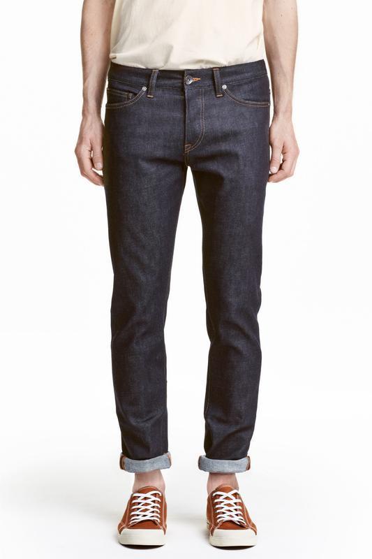 Джинсы h&m , slim low jeans !