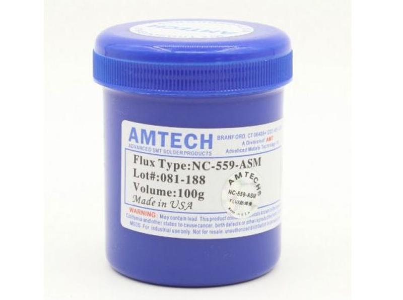 Флюс для пайки AMTECH 100 гр Химия для пайки