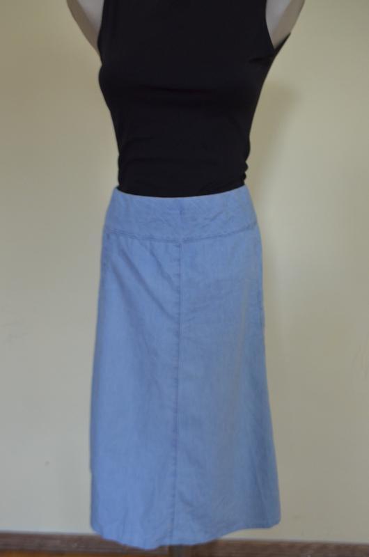 Очень классная легкая джинсовая юбка