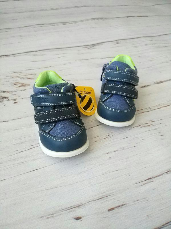 Кроссовки для самых маленьких ножек clibee - Фото 3