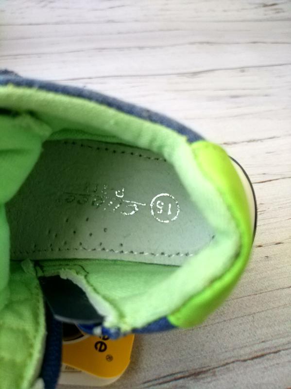 Кроссовки для самых маленьких ножек clibee - Фото 5