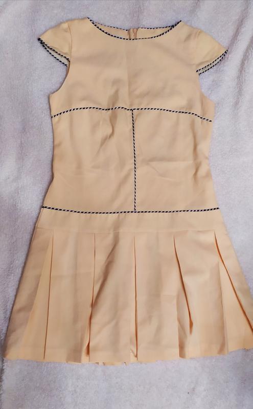 Плаття з пліссе з окантовкою poza № 78