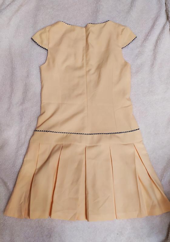 Плаття з пліссе з окантовкою poza № 78 - Фото 2