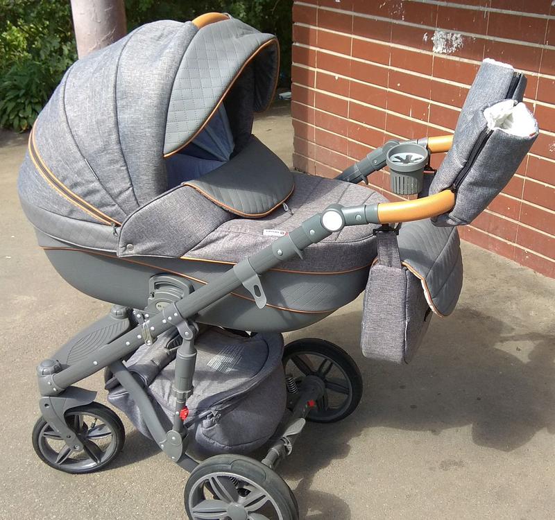 Детская универсальная коляска 2 в 1 Adamex Prince цвет X 5