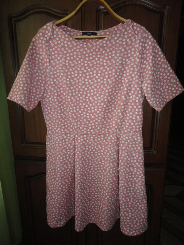 Фактурное платье некст - Фото 3