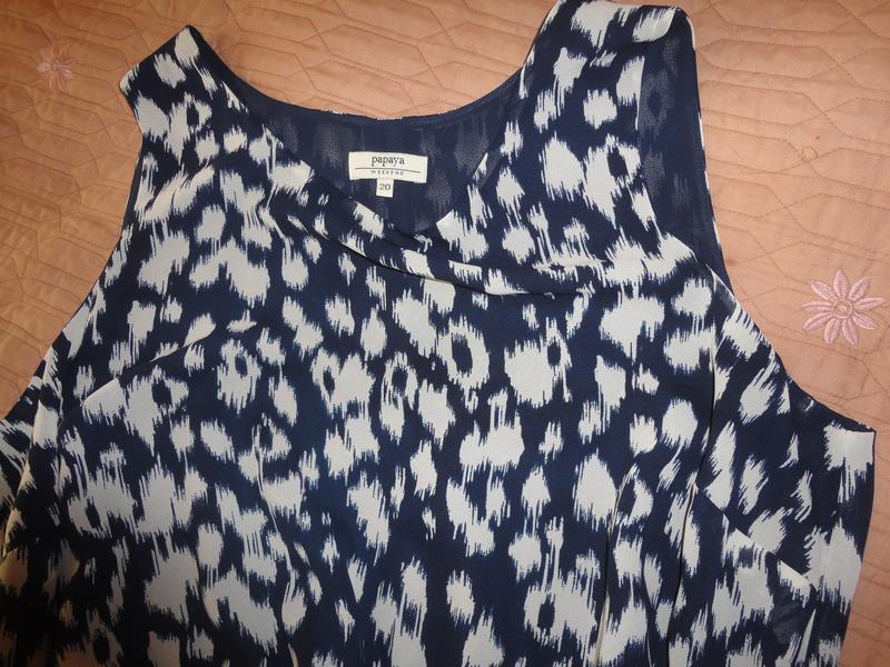 Шифоновое платье большого размера - Фото 2