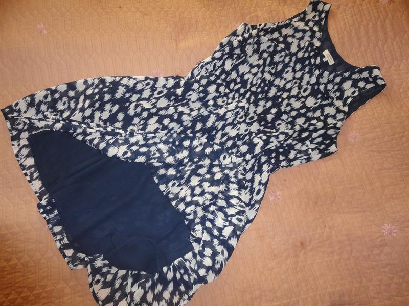 Шифоновое платье большого размера - Фото 3