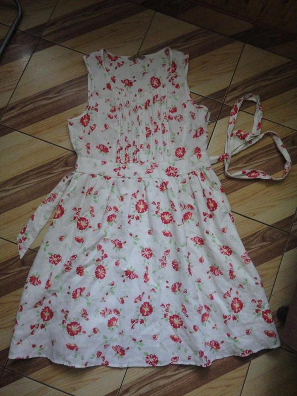 Летнее коттоновое платье