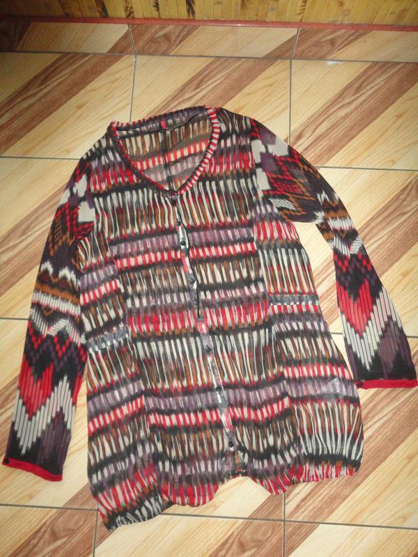 Яркая блуза - туника