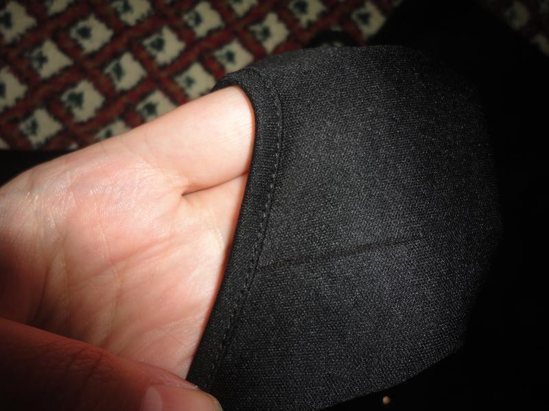 Шифоновое черное платье - Фото 3