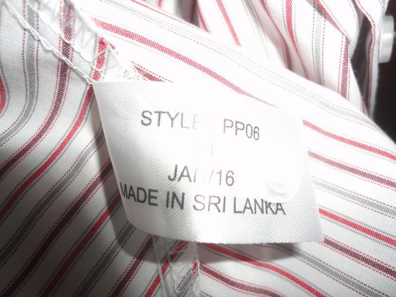 Рубашка в полоску - Фото 4