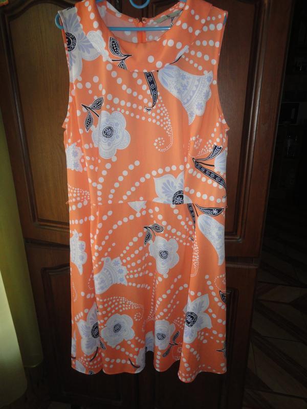 Яркое летнее платье - Фото 2
