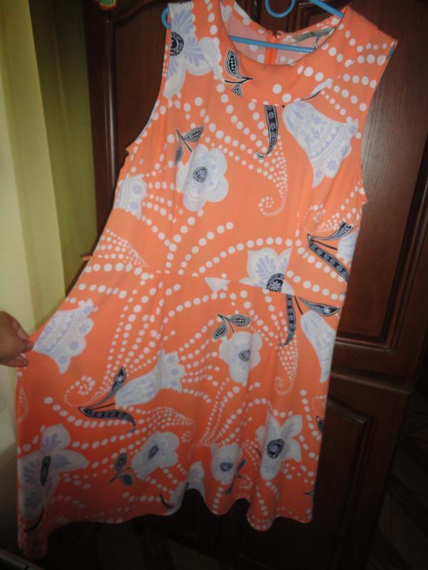 Яркое летнее платье - Фото 3