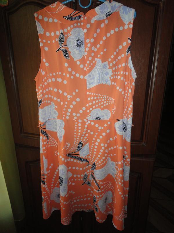 Яркое летнее платье - Фото 4