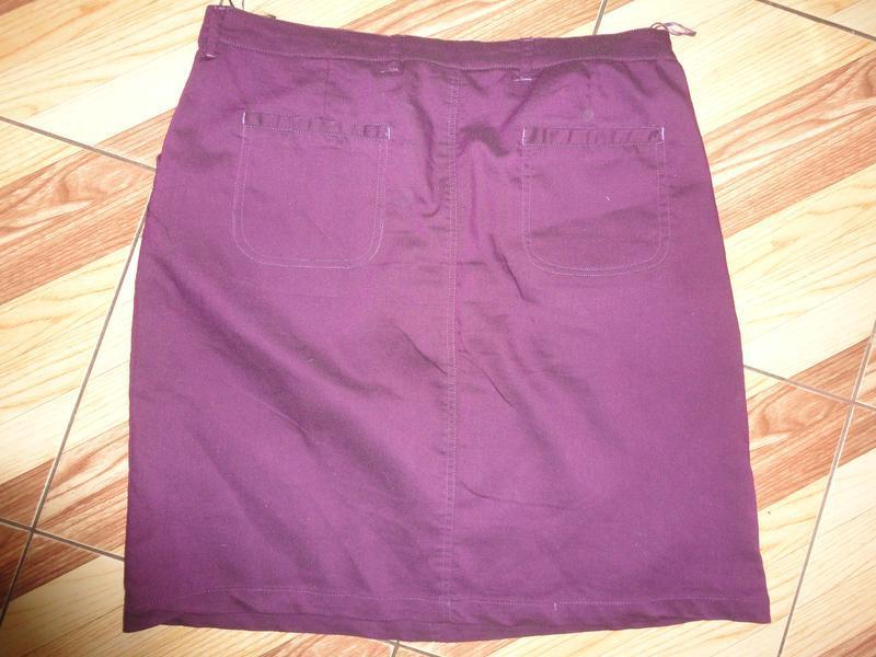 Стильная юбка стрейч - Фото 2