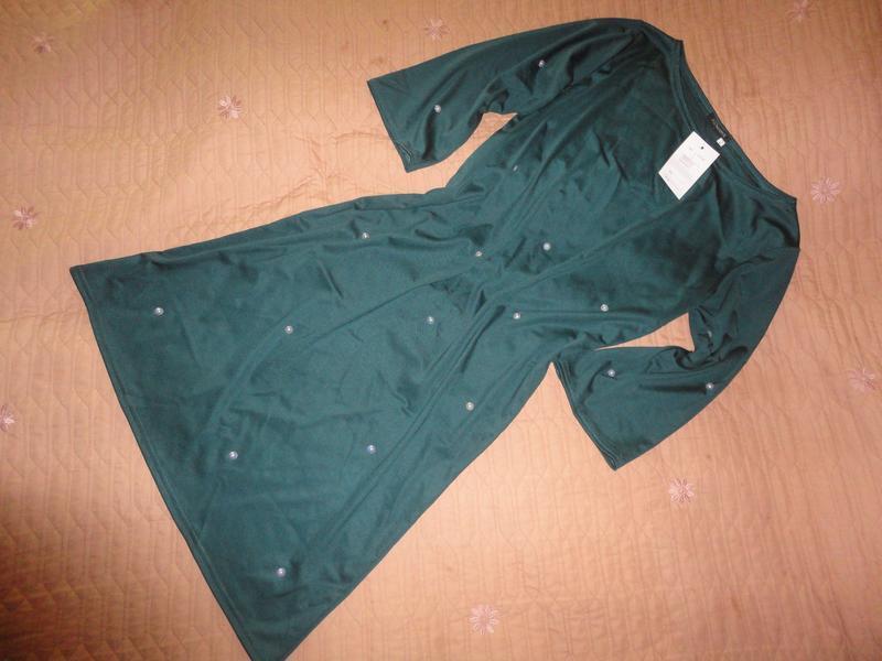 Нарядное платье свободного фасона