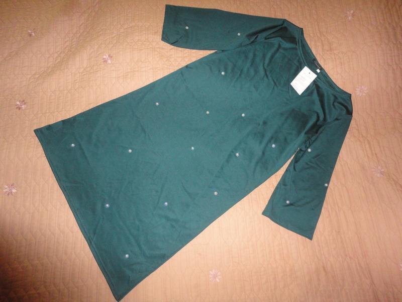Нарядное платье свободного фасона - Фото 3