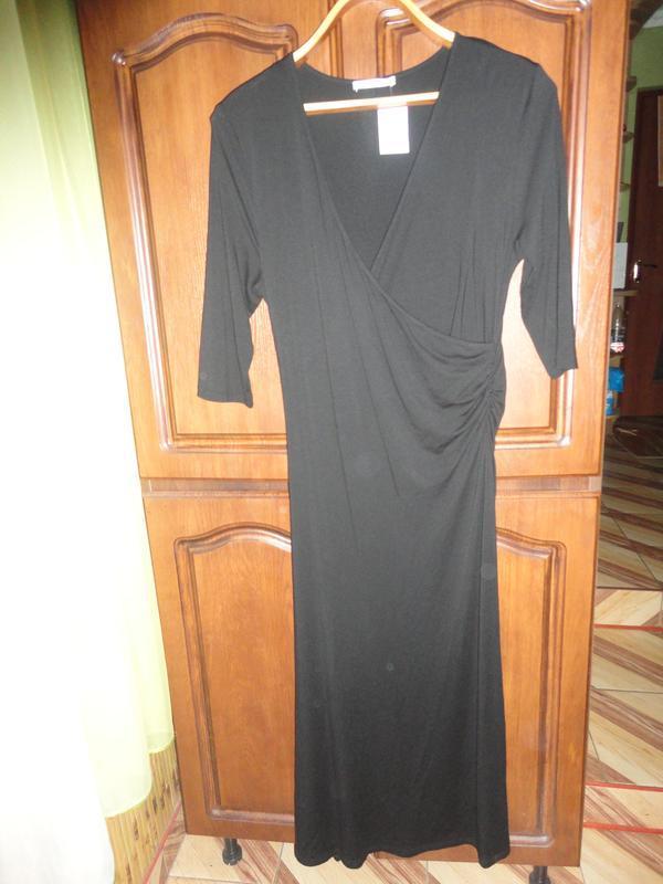 Крутое платье с запахом - Фото 2