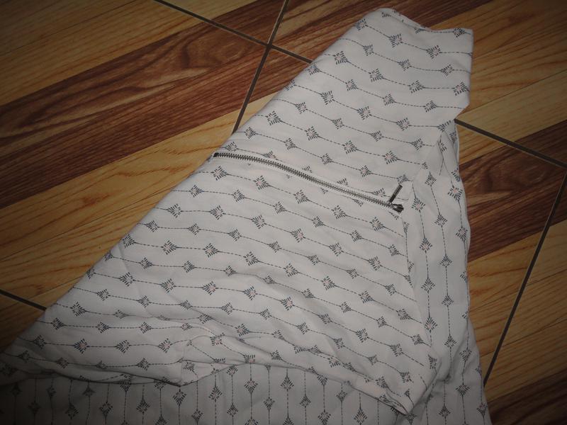 Блуза в ромбики - Фото 3