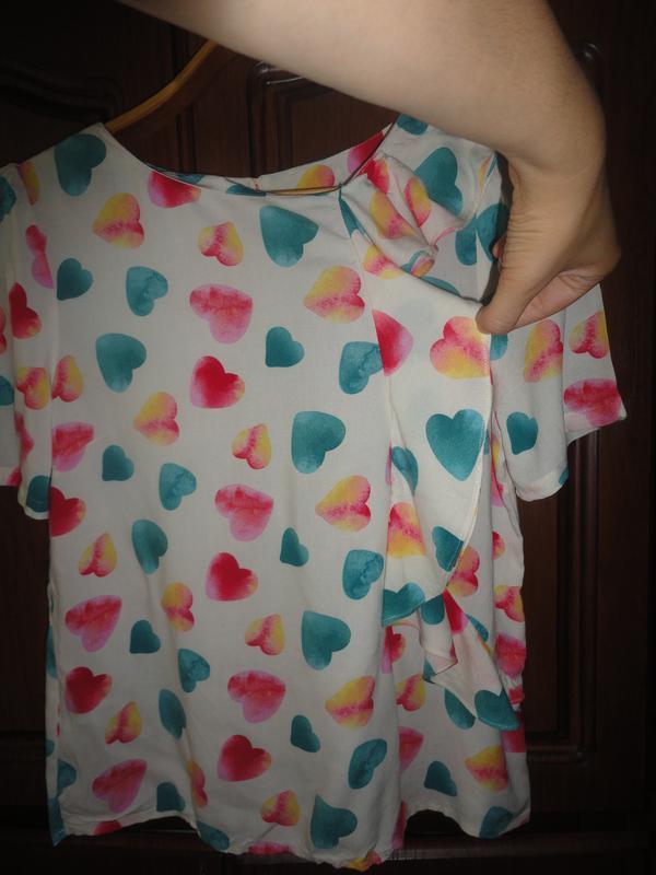 Блузочка в сердечки - Фото 2