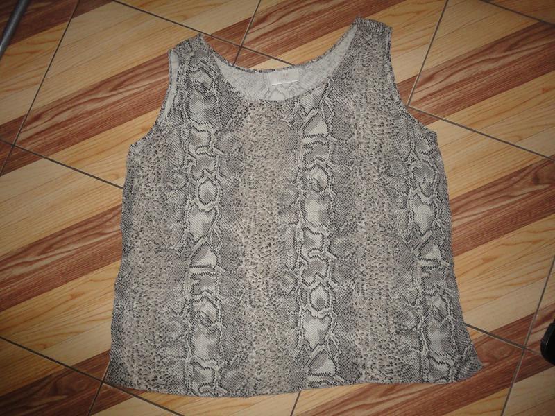 Легкая блуза размер 22