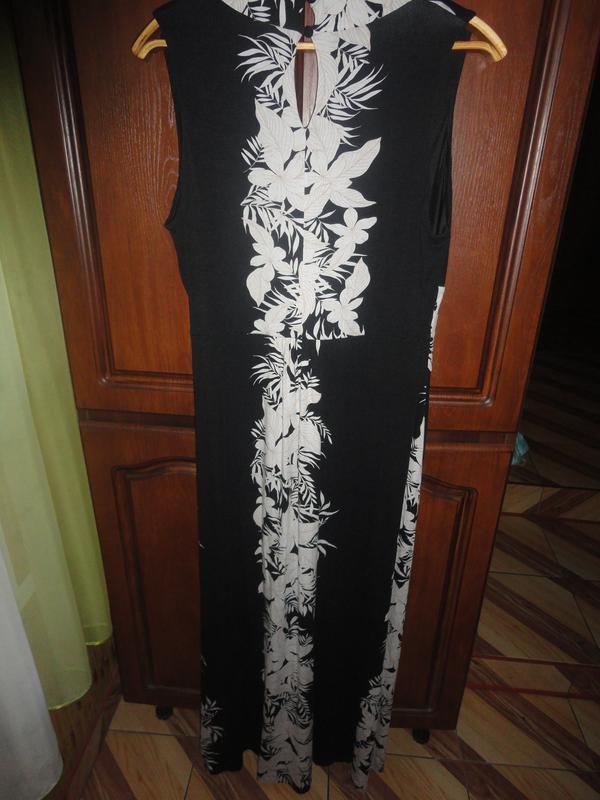 Платье в пол большого размера - Фото 3