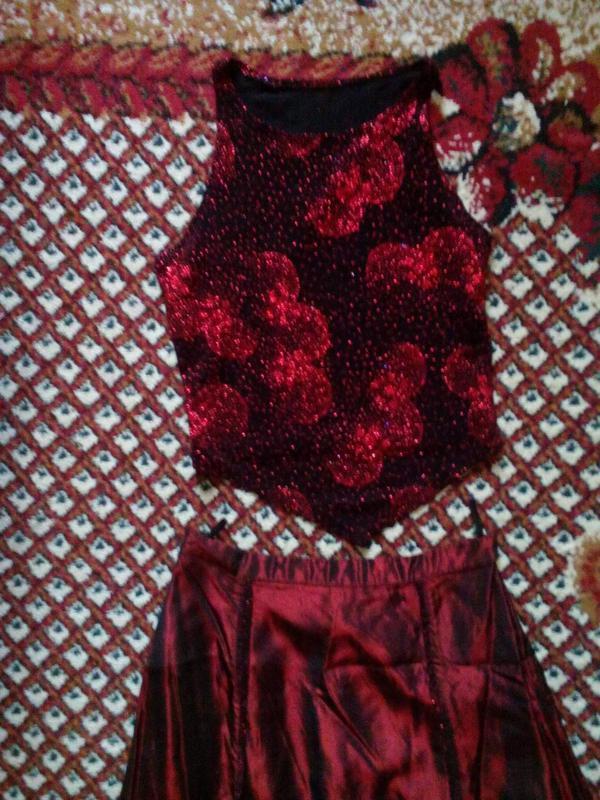 Праздничное платье-костюм - Фото 2