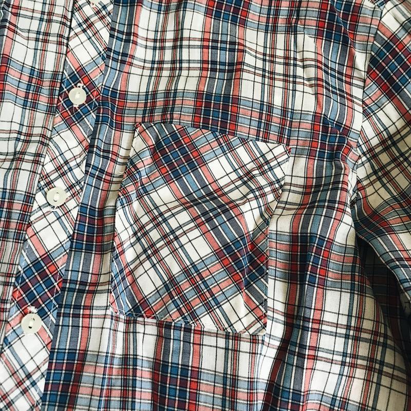 Рубашка в клетку - Фото 3