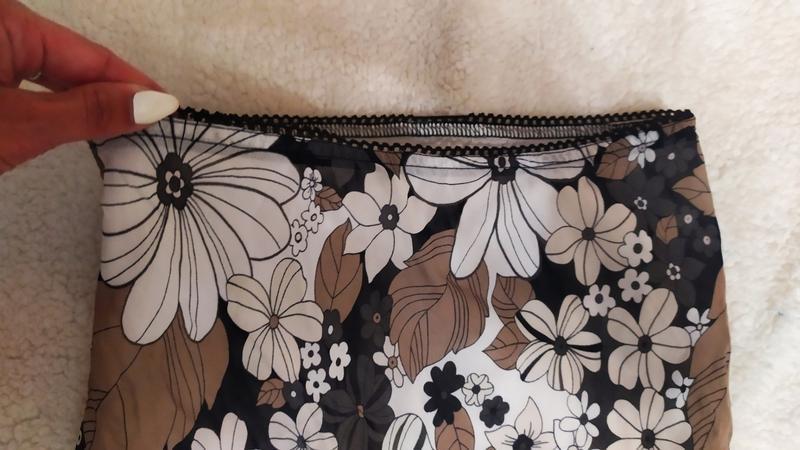 Спідниця з розрізом з воланами у квіти № 49 - Фото 5