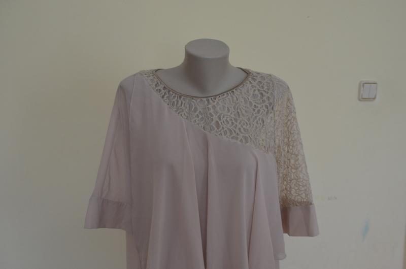 Красивая нарядная туника платье свободного фасона - Фото 3