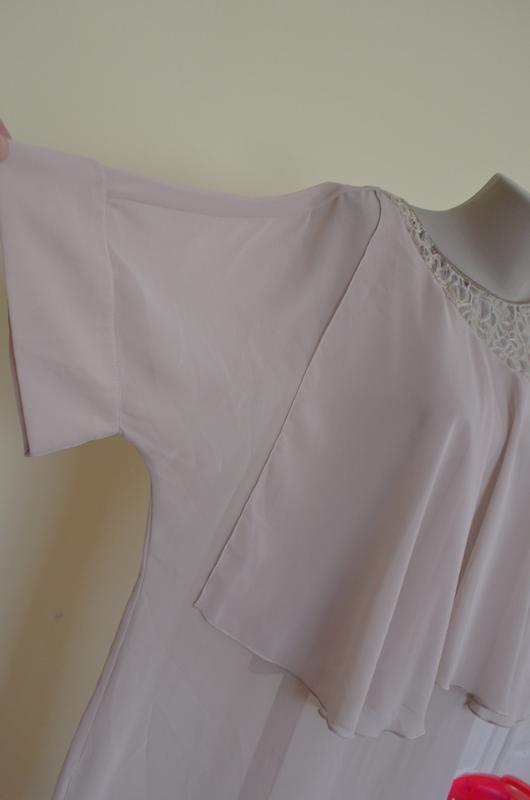 Красивая нарядная туника платье свободного фасона - Фото 4