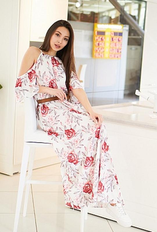 Платье в универсальном размере - Фото 5