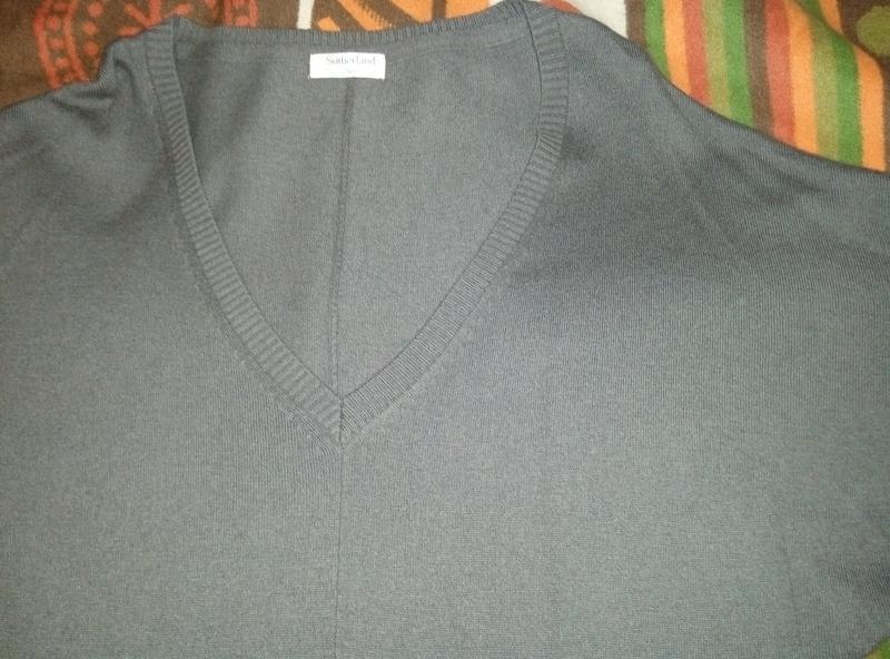 Теплое платье на зиму, размер 46-48 наш - Фото 2