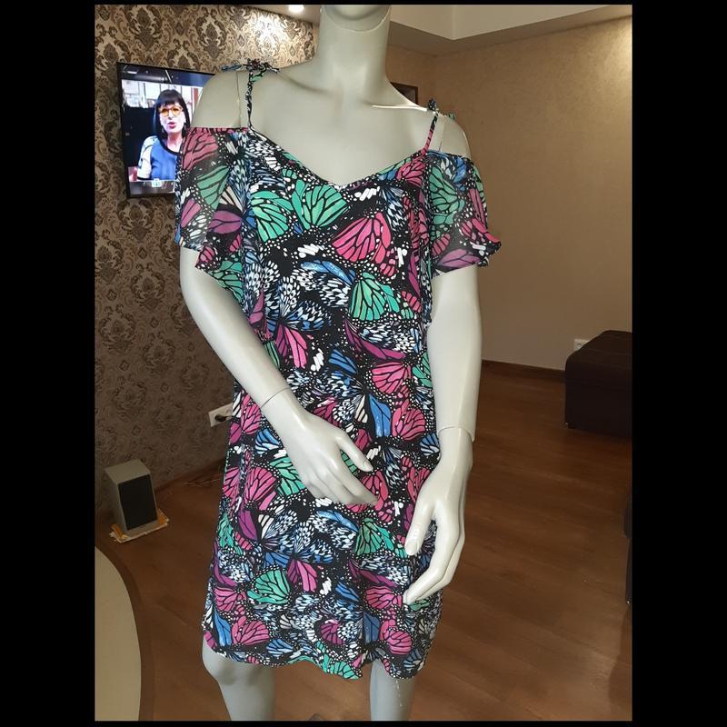 Краствое летнее платье
