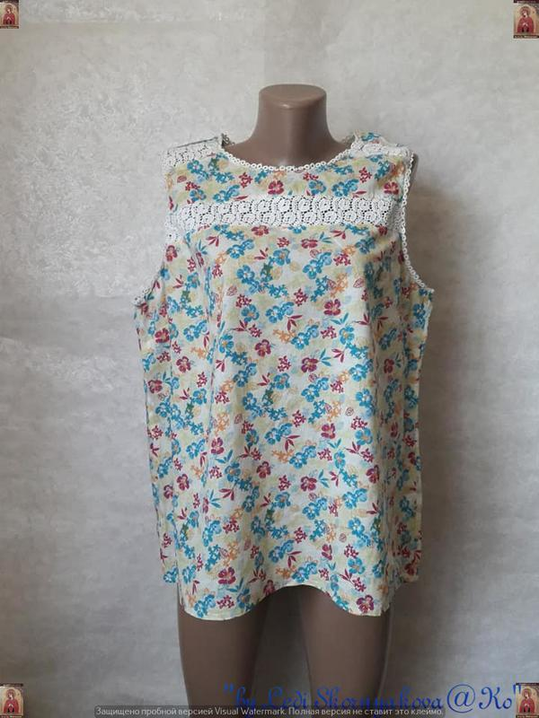 Фирменная tu блуза со 100 %м натурального хлопка в нежный цвет...