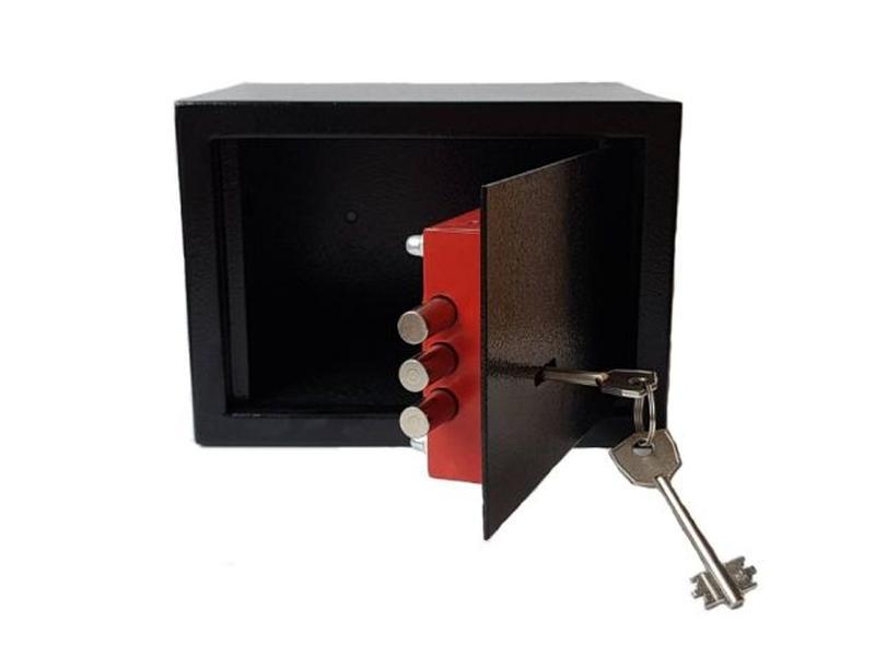 Мини сейф для пистолета, дома, офиса (15К) - Фото 2