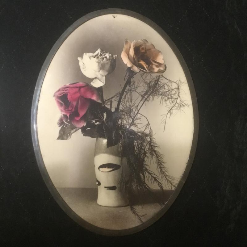 Фото картина картинка советская старая ссср «цветы»