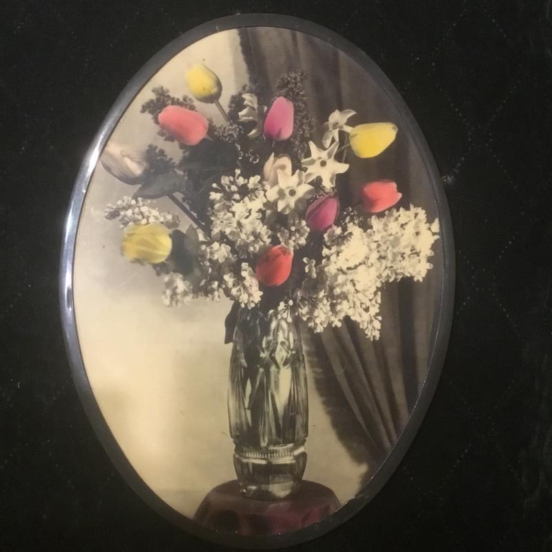 Старая советская фото картина картинка ссср «цветы»