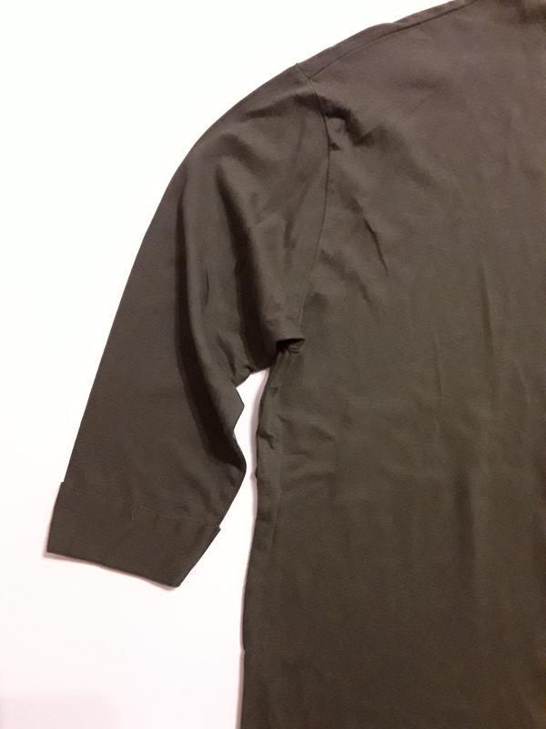 Фирменный реглан лонгслив блуза - Фото 2
